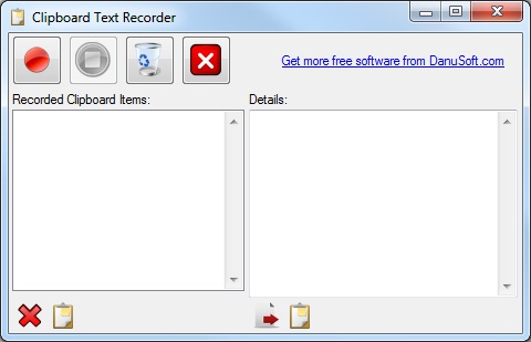 Clipboard Text Recorder