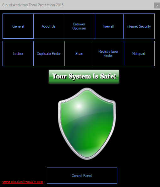 Cloud Antivirus Total Protection 2015