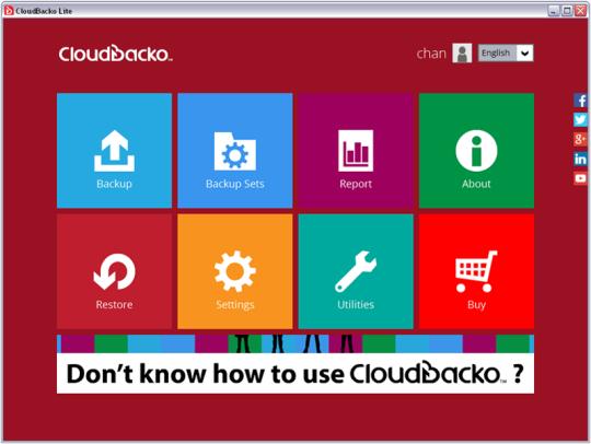 CloudBacko Lite