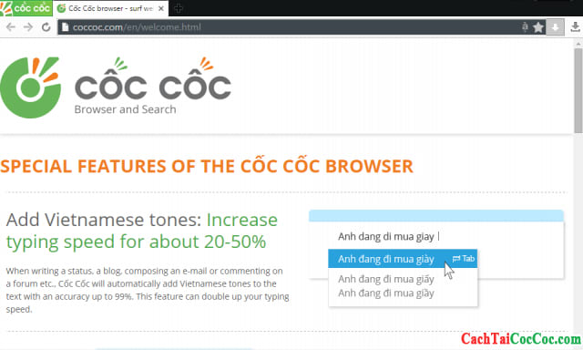Coc Coc browser