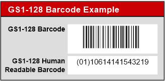 Code-128 & GS1-128 Native Filemaker Barcode Generator