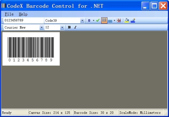 CodeX Barcode Control for .NET