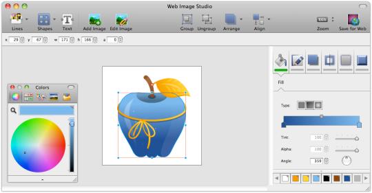 CoffeeCup Free Web Image Studio