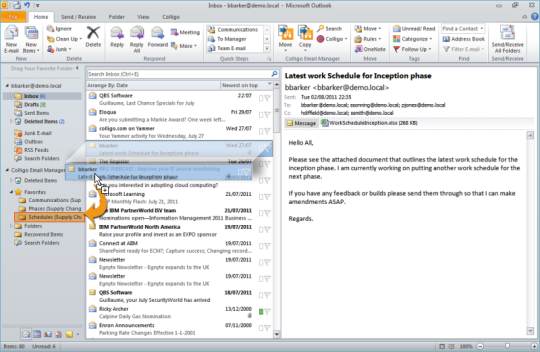 Colligo Email Manager (32-Bit)