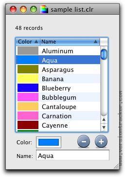ColorListEditor