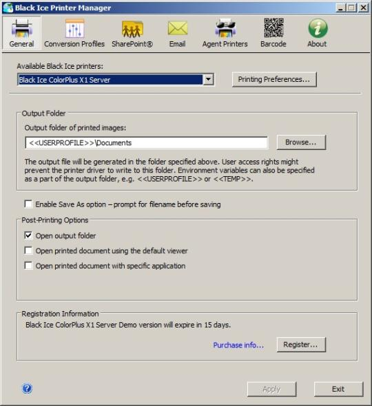 ColorPlus X1 Printer Driver for Windows Servers and Citrix