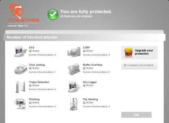 Comitari Web Protector