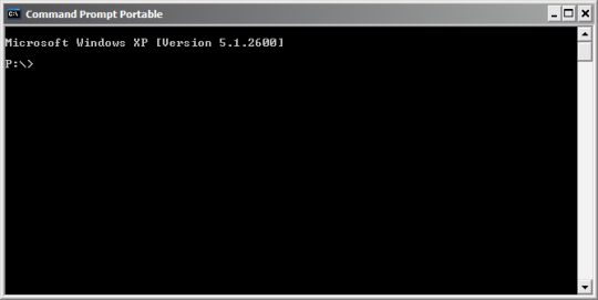 Command Prompt Portable