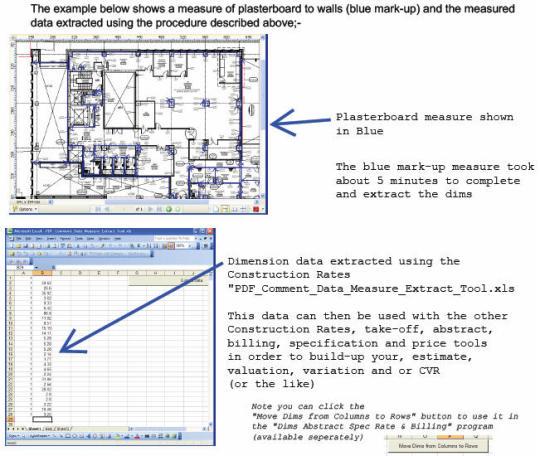 Construction PDF Takeoff Measurement Software
