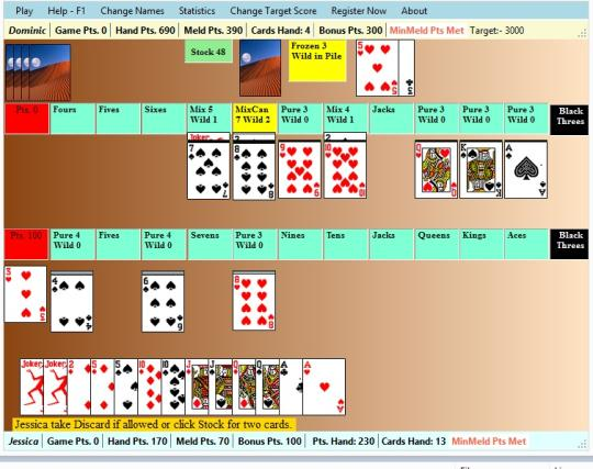 Contract Rummy