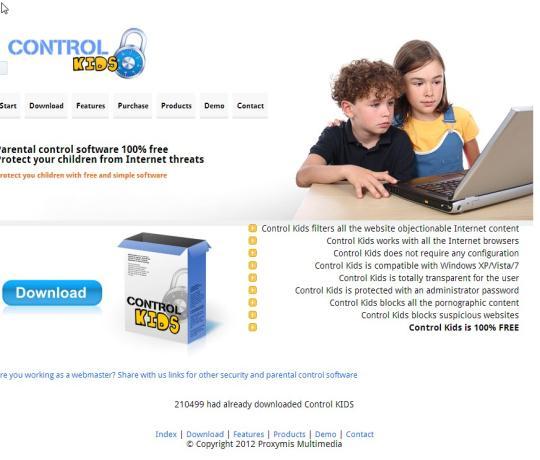 Control Kids parental control