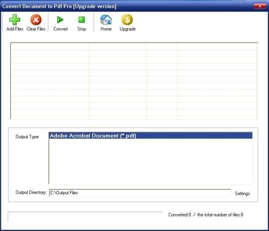 Convert Document to Pdf Pro