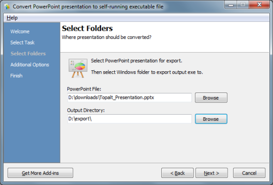 Convert PPT for PowerPoint