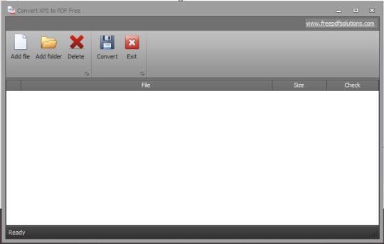 Convert XPS to PDF Free