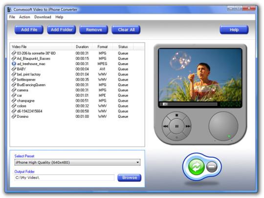 ConvexSoft Video to iPhone Converter