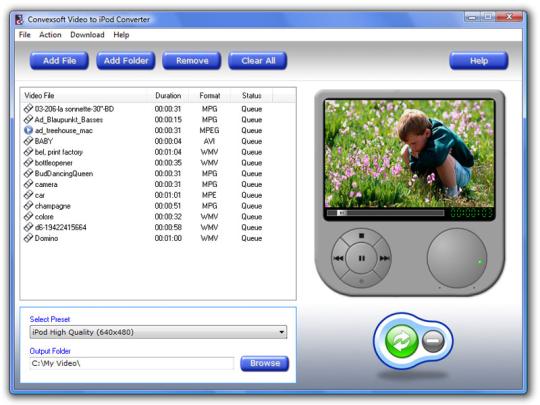ConvexSoft Video to iPod Converter