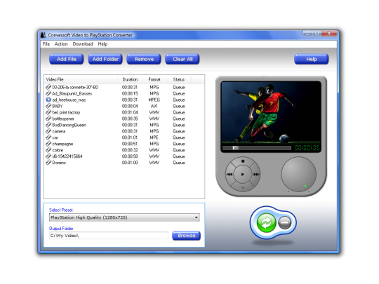 ConvexSoft Video to PlayStation Converter