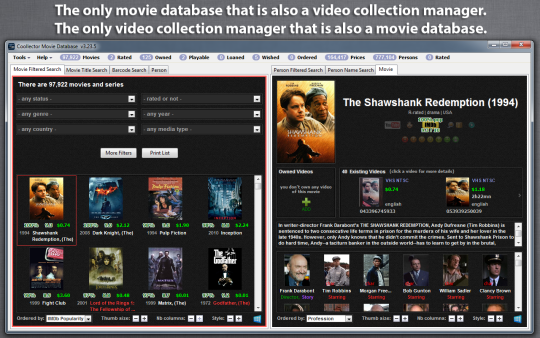 Coollector Portable Movie Database
