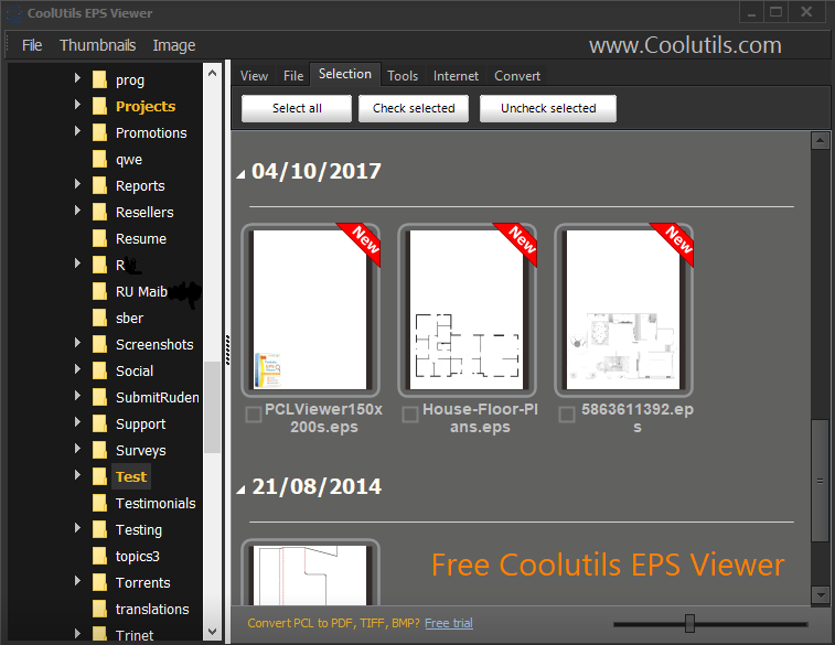 Coolutils EPS Viewer
