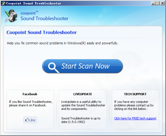 Coopoint Sound Troubleshooter