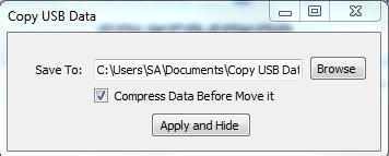 Copy USB Data