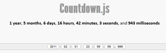 Countdown.js