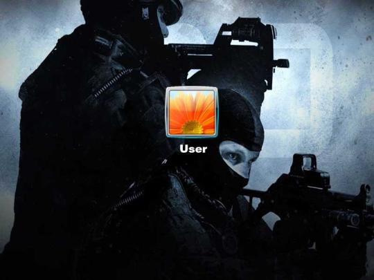 Counter Strike Logon Screen