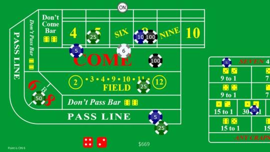 Craps+ for Windows 8