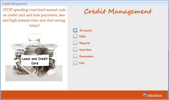 Credit Management Database