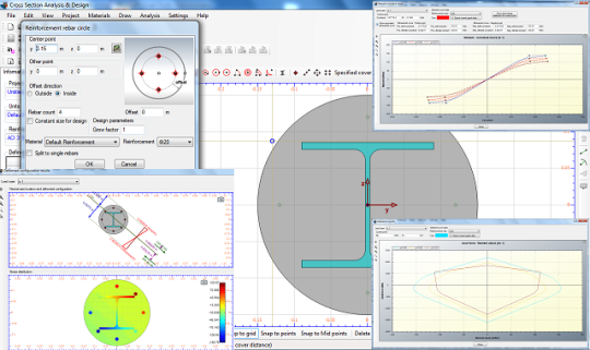 Cross Section Analysis and Design