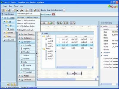 CrossUI RAD Desktop - WIN32