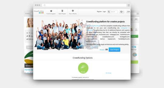 Crowdfunding Donate - Donation Script