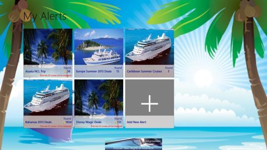 Cruise Alert for Windows 8