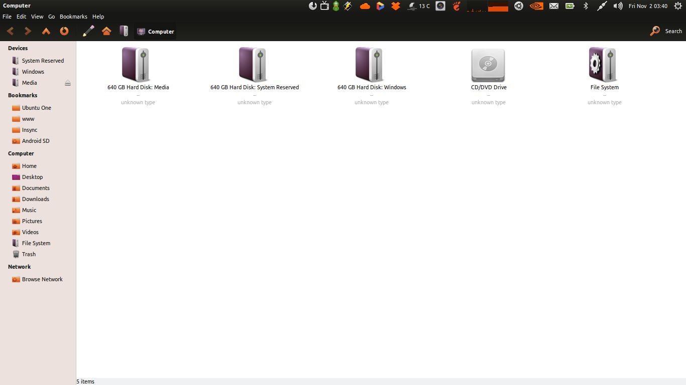 Crunchy-ubuntu Black Theme
