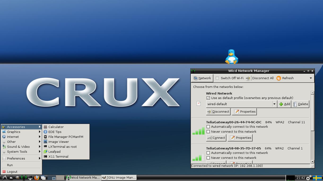 CruxEX Linux Live CD/USB