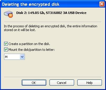 Cryptic Disk