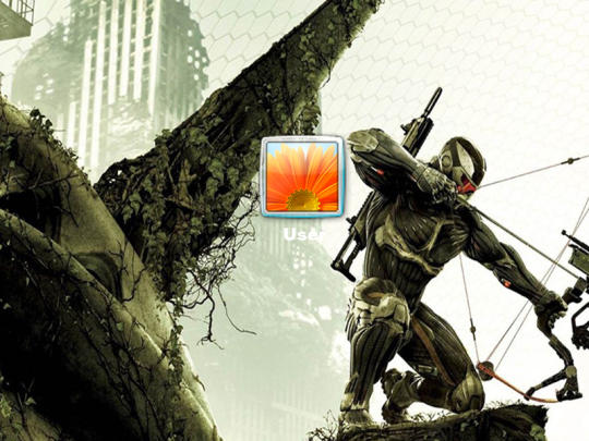 Crysis Predator Bow Logon Screen