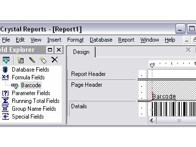 Crystal Reports Barcode Font UFL