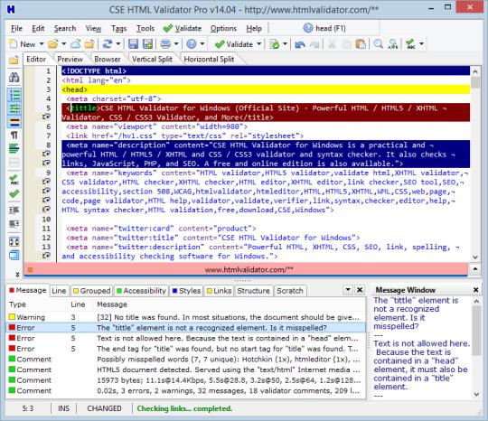 CSE HTML Validator Pro