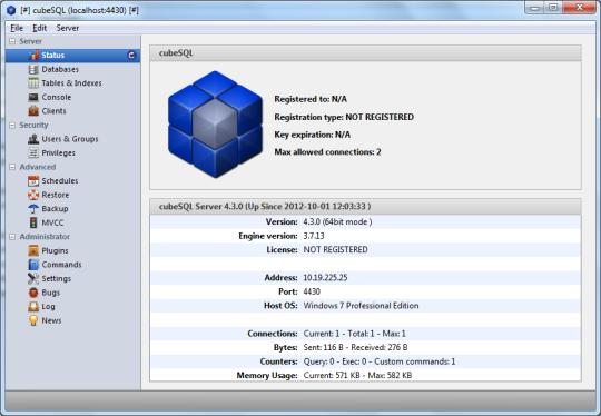cubeSQL (64-Bit)