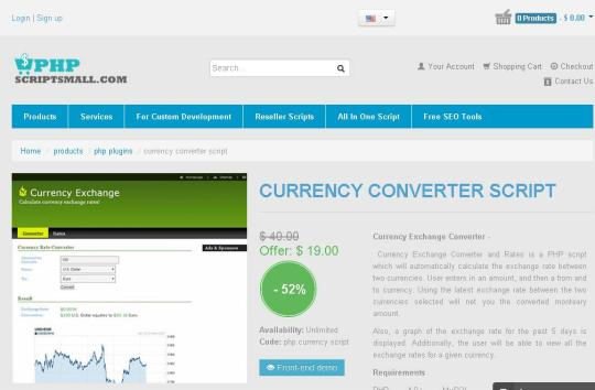 Currency Conversion Script