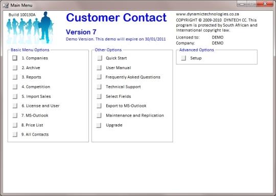 Customer Contact