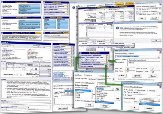 Customer Invoicing System