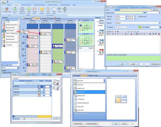 Customer Scheduler Pro