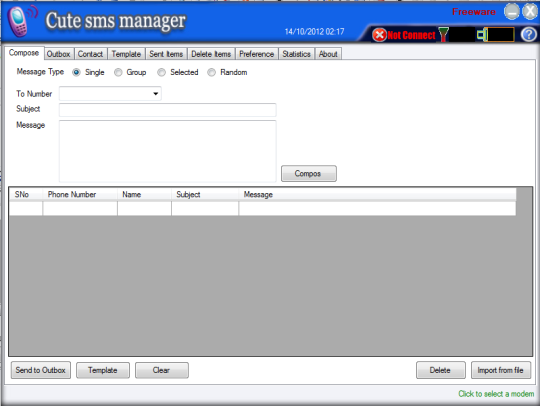 Cute SMS Manager