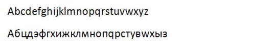 Cyrillic Character Transliteration