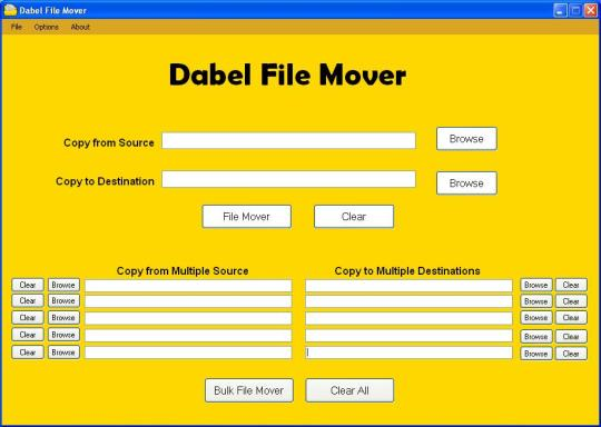 Dabel File Mover