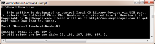 Dacal CD Library