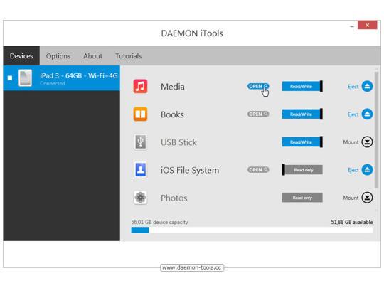 Daemon iTools