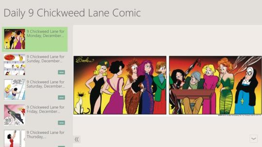 Daily 9 Chickweed Lane Comic for Windows 8